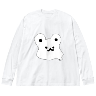 うみゅうみゅ Big silhouette long sleeve T-shirts