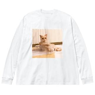 ととろ Big Silhouette Long Sleeve T-Shirt