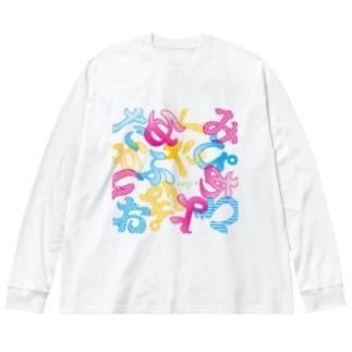 15期だよ全員集合!2021 Big silhouette long sleeve T-shirts