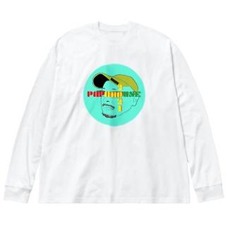 PAPAHOUSE & papa3 Big Silhouette Long Sleeve T-Shirt