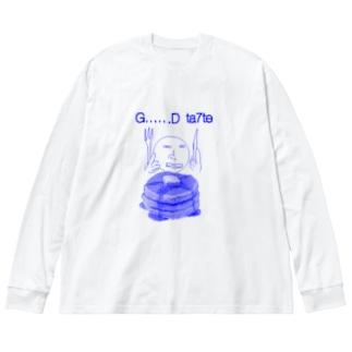 G……D   ta7te Big silhouette long sleeve T-shirts