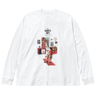 MAi ARTのSPORTS 80'S Big silhouette long sleeve T-shirts