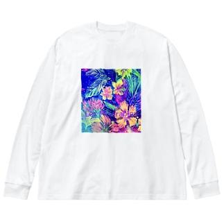 Les Misérables  レミゼラブル Big Silhouette Long Sleeve T-Shirt