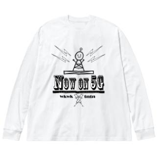5G Big silhouette long sleeve T-shirts