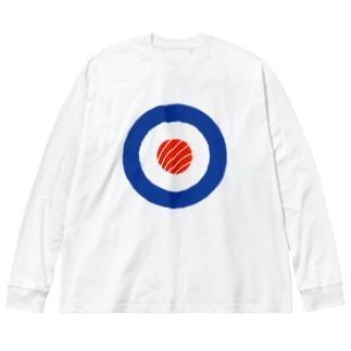 スシ・ターゲット Target Sushi Roll Roundel Big silhouette long sleeve T-shirts