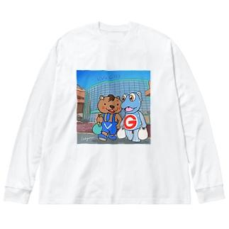 ビバシティ彦根でお買い物 Big silhouette long sleeve T-shirts