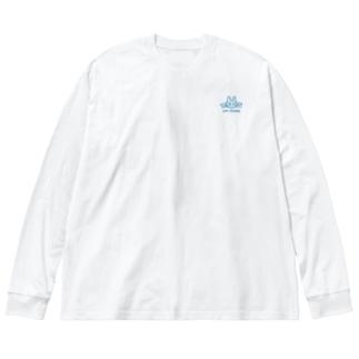 コマツタスク Big silhouette long sleeve T-shirts