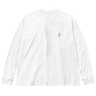 tokikuma Big silhouette long sleeve T-shirts