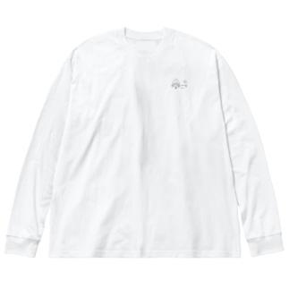 オダンゴ Big silhouette long sleeve T-shirts