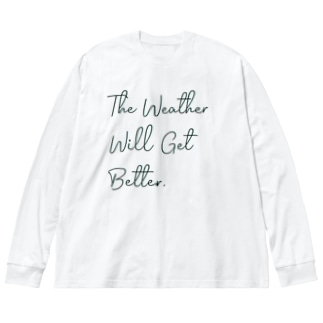 The Weather Big silhouette long sleeve T-shirts