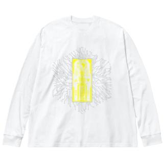 電子線路靈符 Big Silhouette Long Sleeve T-Shirt
