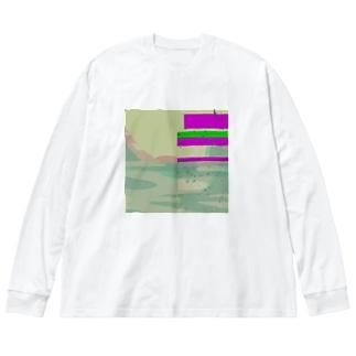 Buggy Laggy Shirts Big Silhouette Long Sleeve T-Shirt
