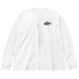 snaggedgorillaのマダラテンジクダイ Big Silhouette Long Sleeve T-Shirt