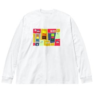 まーマジョのマジョの箱 Big silhouette long sleeve T-shirts