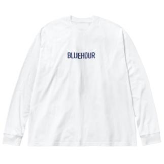 サンセットグラデーション Big Long Sleeve T-shirt