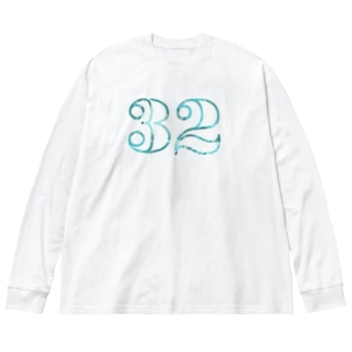 ナンバー32 Big silhouette long sleeve T-shirts