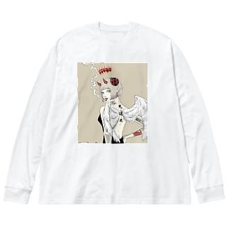 天道虫 Big Silhouette Long Sleeve T-Shirt