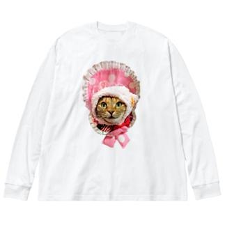 プリピ姫 Big Long Sleeve T-shirt