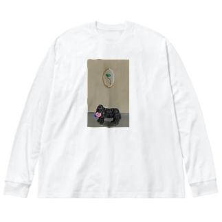 哀愁コッカースパニエル Big Long Sleeve T-shirt
