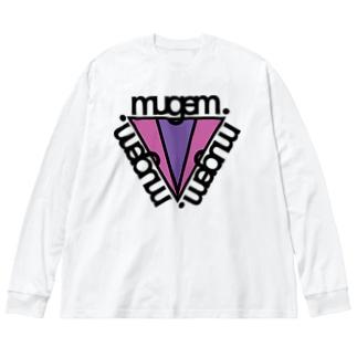 mugem.triangle Big Silhouette Long Sleeve T-Shirt