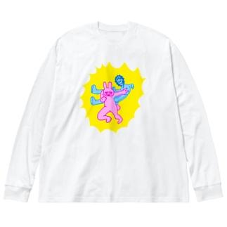 めつぶしサンプルー Big Long Sleeve T-shirt