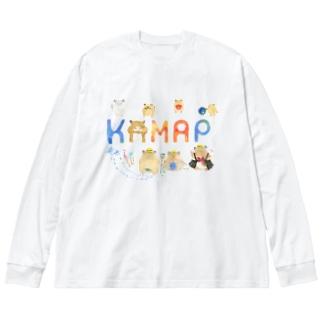 【KAMAP】カラフルKAMAP Big Silhouette Long Sleeve T-Shirt