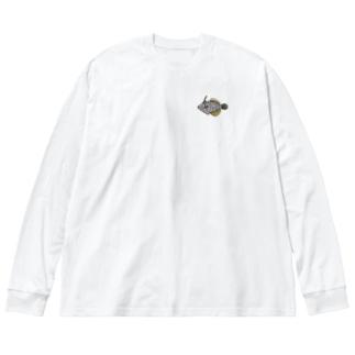ハクセイハギ Big Silhouette Long Sleeve T-Shirt