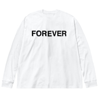 FOREVER-フォーエバー- Big Silhouette Long Sleeve T-Shirt