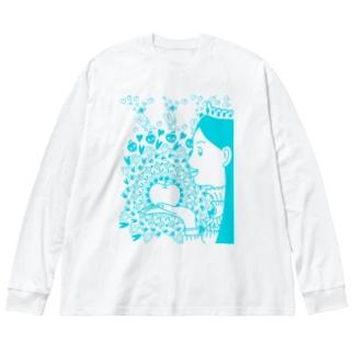 りんご姫 Big Long Sleeve T-shirt