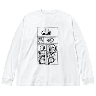 オシャレなてんあご Big Long Sleeve T-shirt