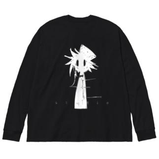 ロゴ入りぱぶりくんロングTシャツ(ビッグシルエット) Big silhouette long sleeve T-shirts