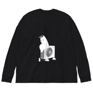 キョム君 Big silhouette long sleeve T-shirts