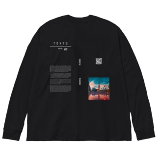 melt designのTOKYO Big silhouette long sleeve T-shirts