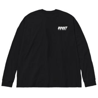 ティシャツ Big silhouette long sleeve T-shirts
