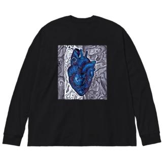 Chronostasis Big silhouette long sleeve T-shirts