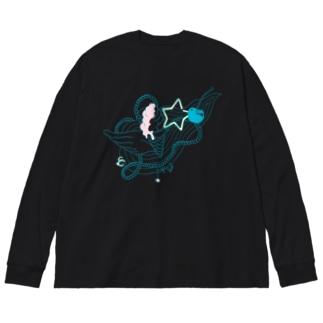 Sweet Gadget Big silhouette long sleeve T-shirts