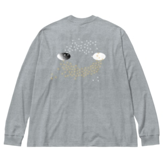 木犀holes Big silhouette long sleeve T-shirts