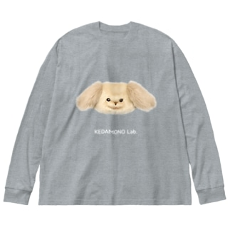 王さんBIGロンティー Big silhouette long sleeve T-shirts