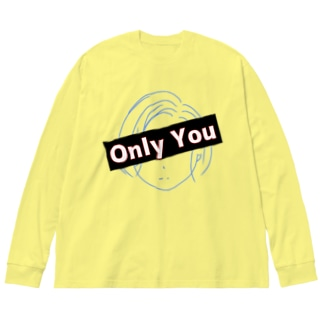 ONLY YOU Big silhouette long sleeve T-shirts