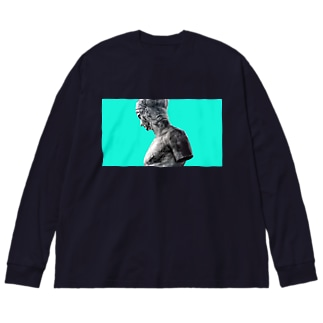 マルス Big silhouette long sleeve T-shirts
