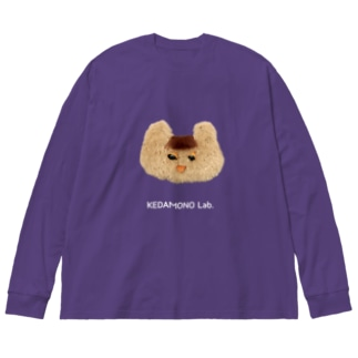 まえがみちゃんBIGロンティー Big silhouette long sleeve T-shirts