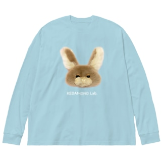 むぎちゃんBIGロンティー Big silhouette long sleeve T-shirts
