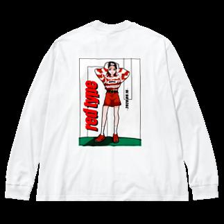 RED type ビッグシルエットロングスリーブTシャツ