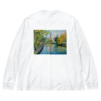 ウプサラ Big silhouette long sleeve T-shirts