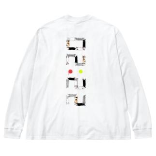 ベタですみません。縦 Big silhouette long sleeve T-shirts