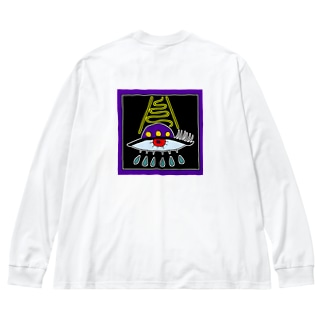 I's Big silhouette long sleeve T-shirts