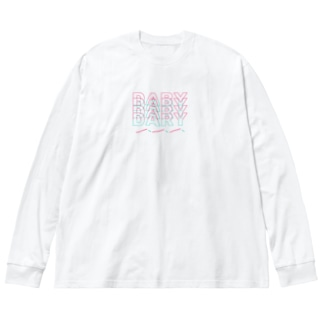 DARYDARYDARYDARY Big silhouette long sleeve T-shirts