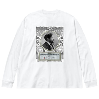 Debussy's Corner Big silhouette long sleeve T-shirts