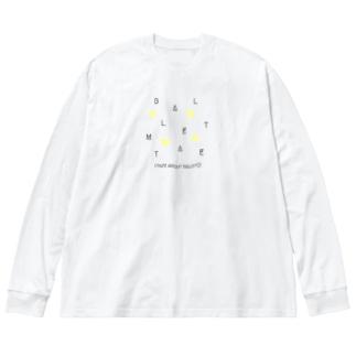 【黒文字】CRAZY-BM2020 Big silhouette long sleeve T-shirts