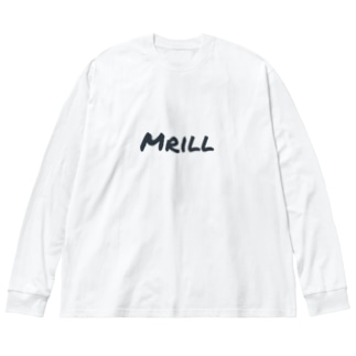 Mrill Big silhouette long sleeve T-shirts